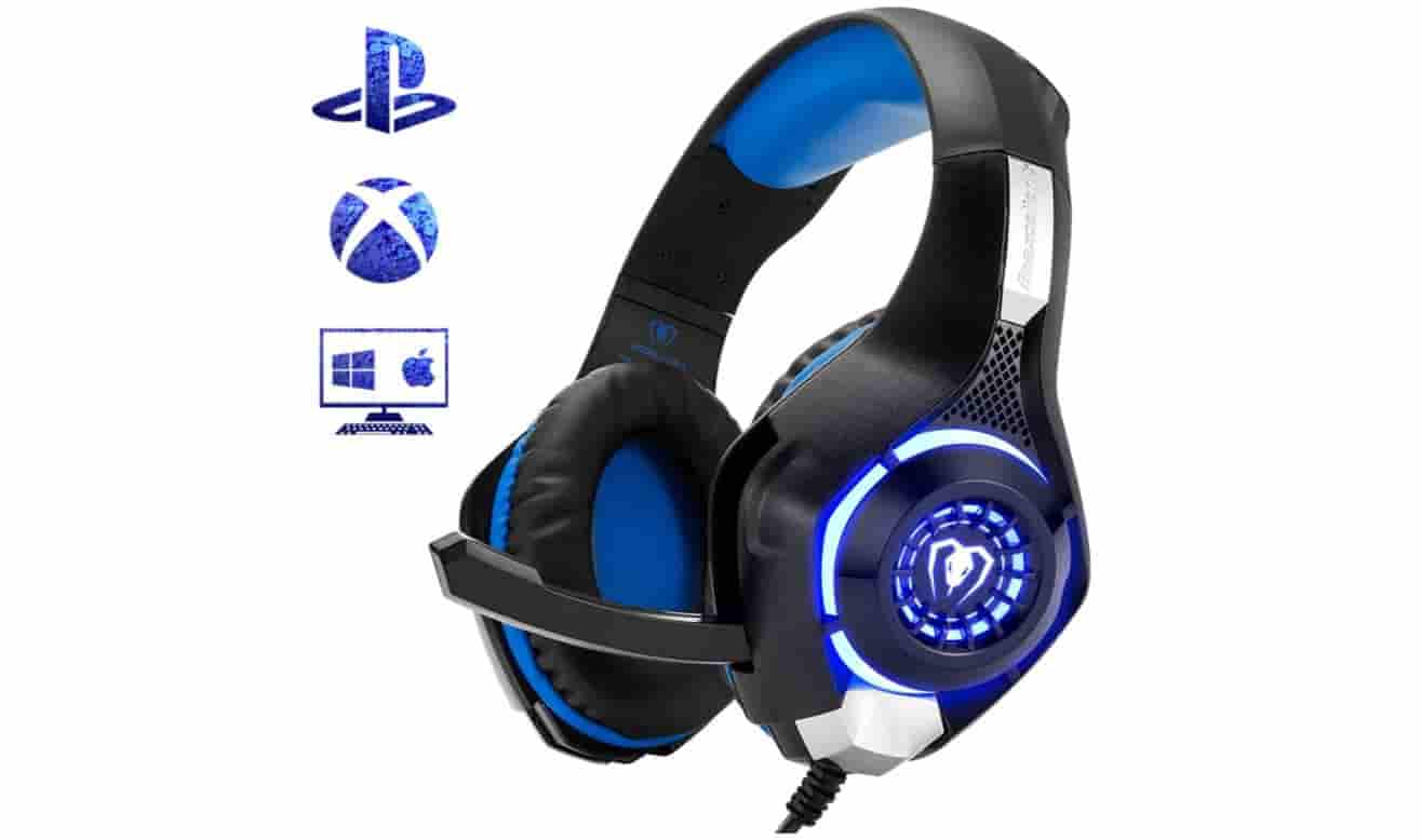 Beexcellent Gaming Headset with LED Light