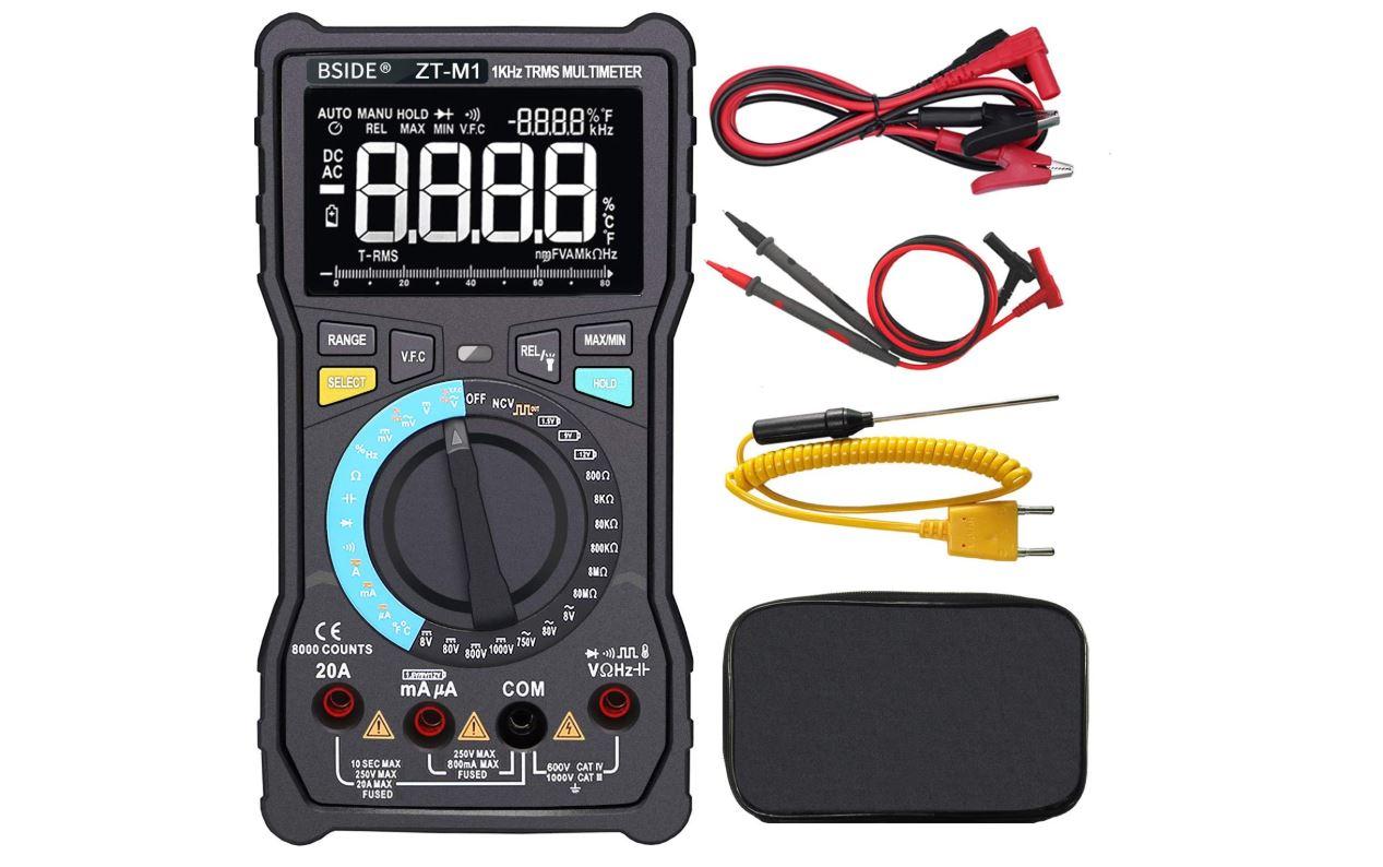 Bside Electricians Digital Multimeter