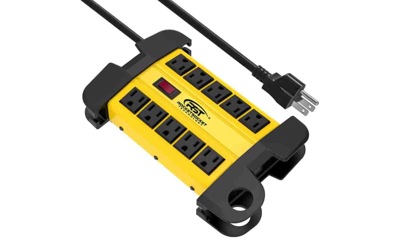 CRST 10-Outlets Heavy Duty Power Strip