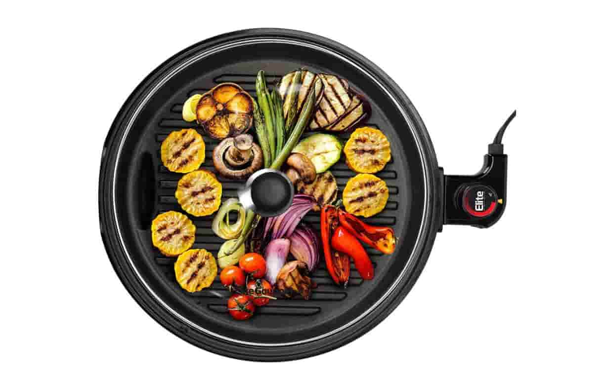 Elite Gourmet EMG-980B Large Indoor Electric Grill