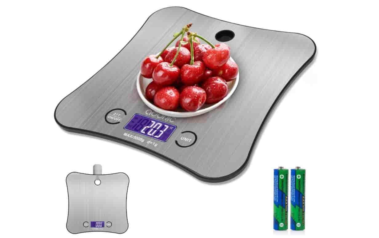 Hangable Digital Kitchen Scale Food Scale