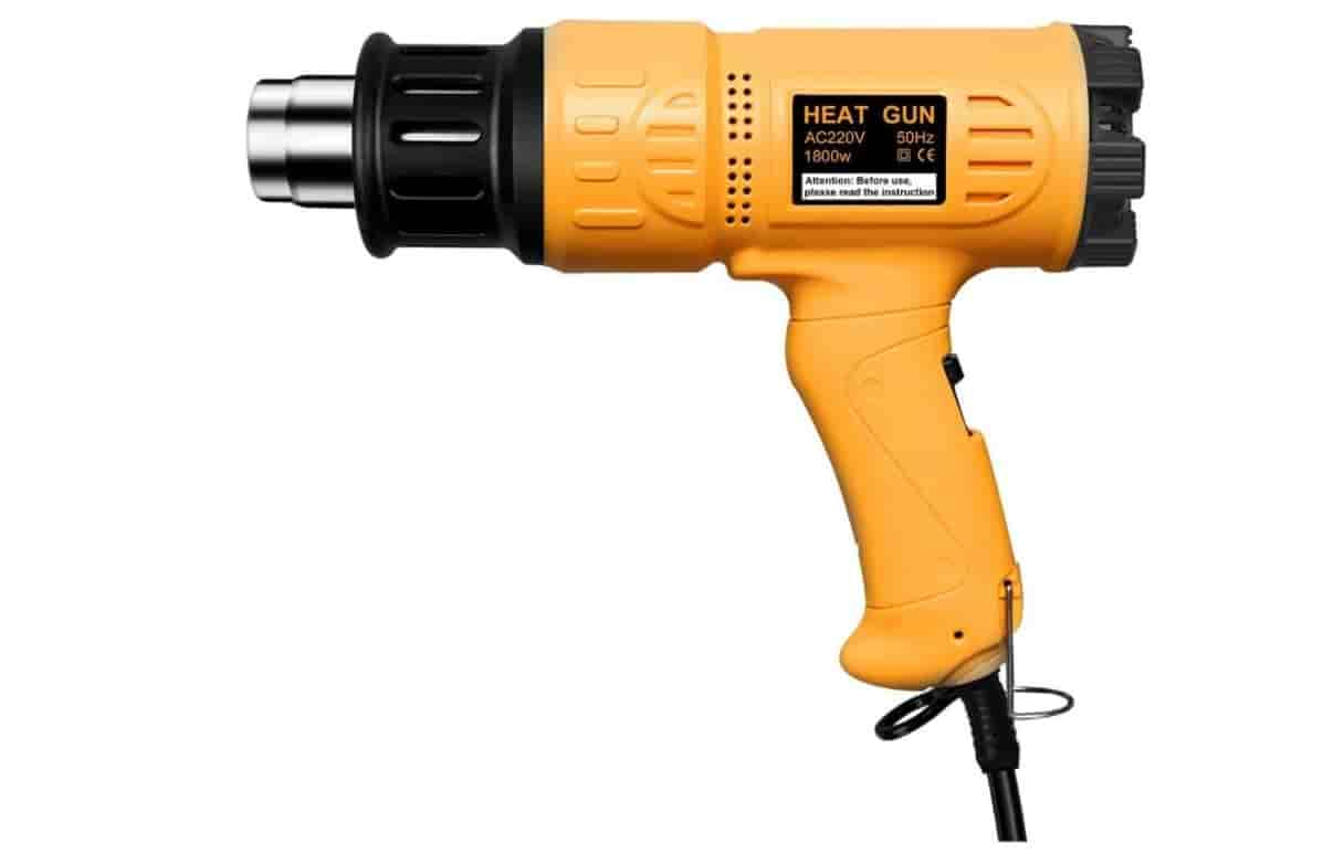 Hattomen Professional Heat Gun with LCD Screen Display
